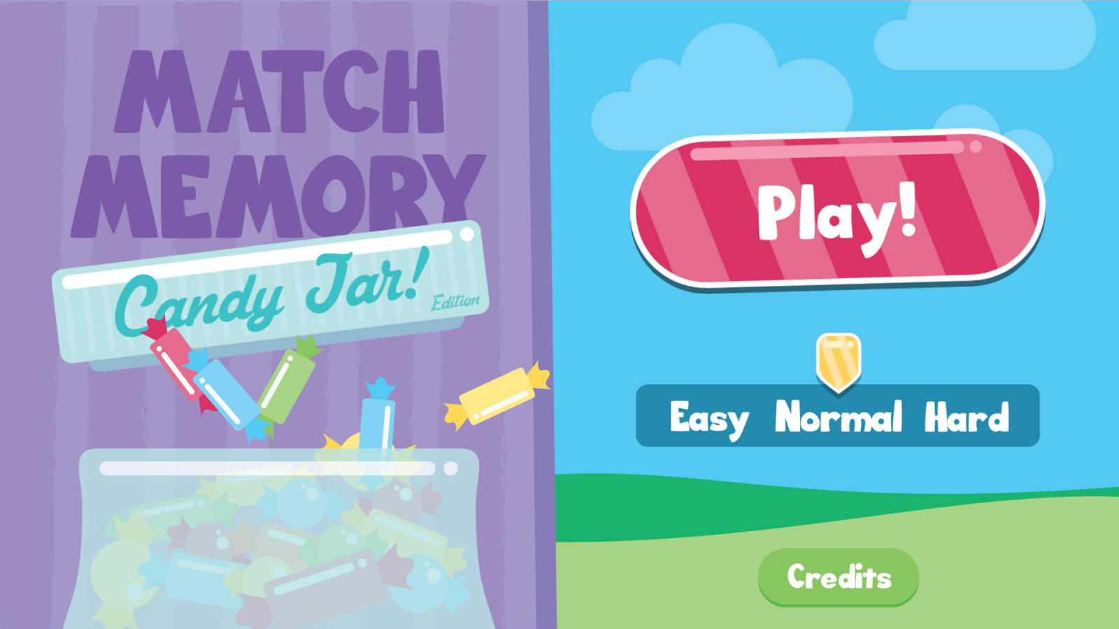 NEW Match Memory Game with Candy!